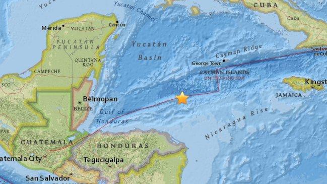 Un potente sismo sacude el Caribe al norte de Honduras y remece territorio continental