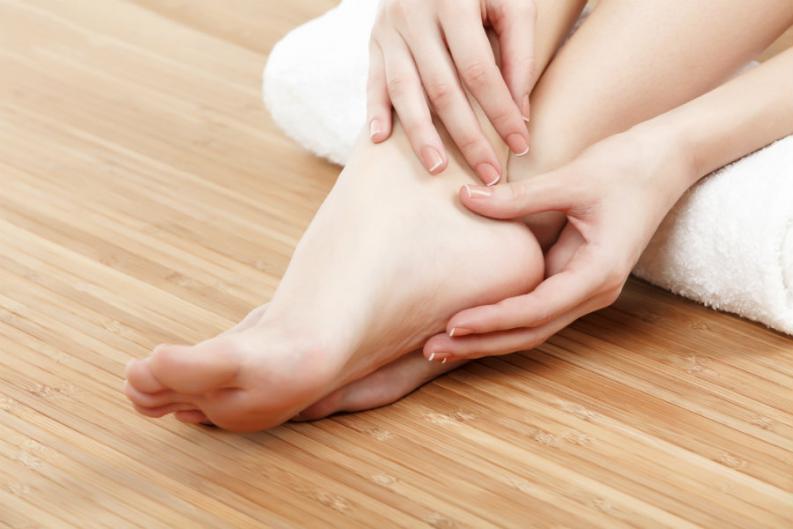 Suavizar la piel de los pies