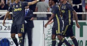 Cristiano festeja. (Twitter Juventus)