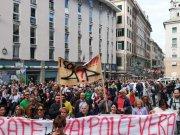 Manifestacion en Genova. (@Cgil_Liguria)