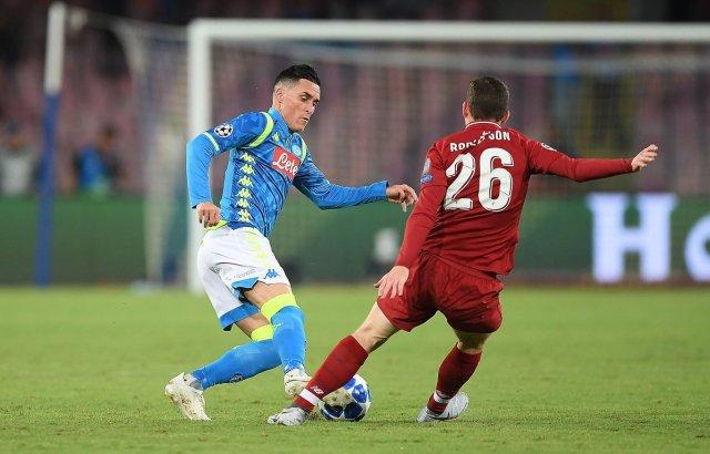 Napoli vs. Liverpool. (@LFC)