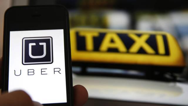 Uber taxi. (Foto: UBER)
