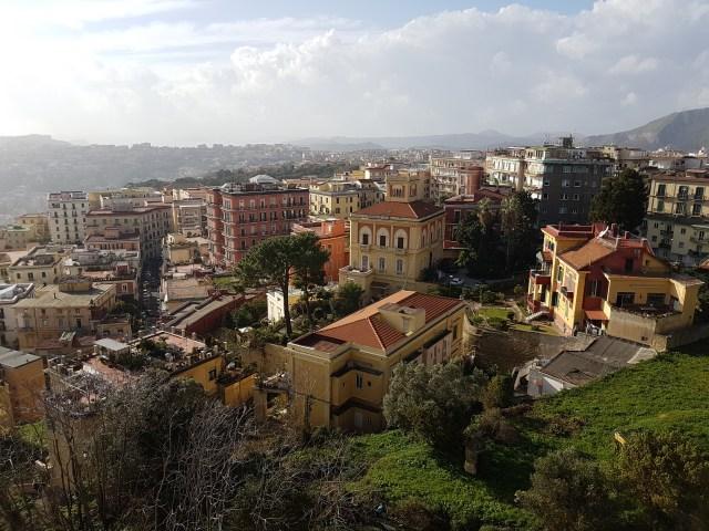 Vista desde Castel Sant Elmo (Foto: ahoraroma.com).
