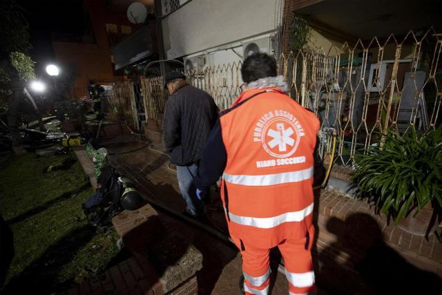 Los bomberos tuvieron más trabajo que el año pasado (Foto: rai.it).