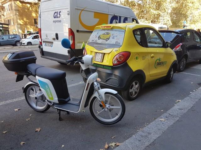 Tránsito en Roma. (Foto: AhoraRoma.com)