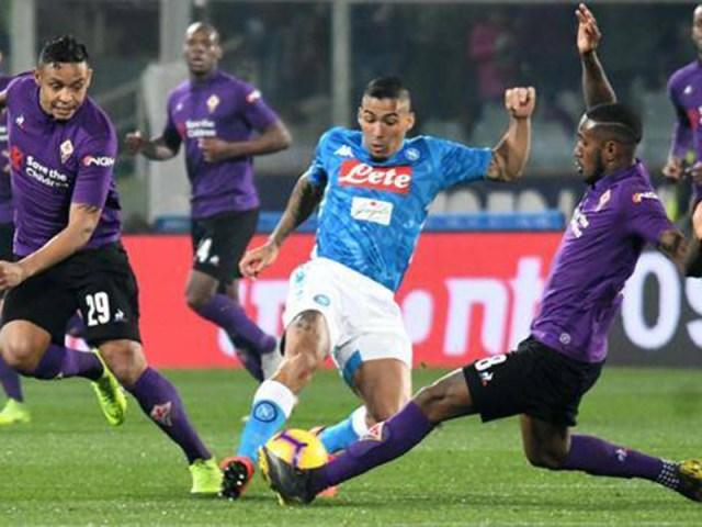 Fiorentina vs. Napoli (Foto: Ansa).