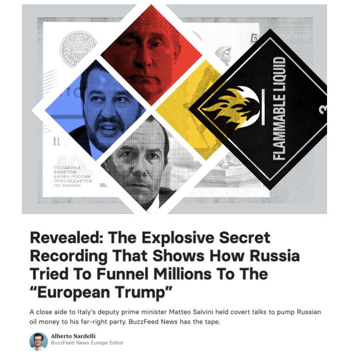 La publicación de BuzzFeed