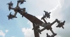 Esvásticas nazis en parque de diversiones alemán