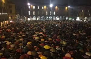 Flashmob en Módena.