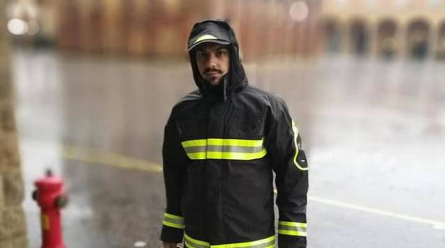 Antonino Candido, uno de los bomberos muertos.