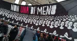 Marcha en Roma.