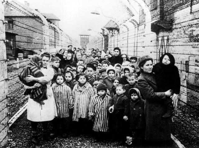 Niños de Auschwitz.