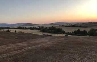 Campos en Toscana.