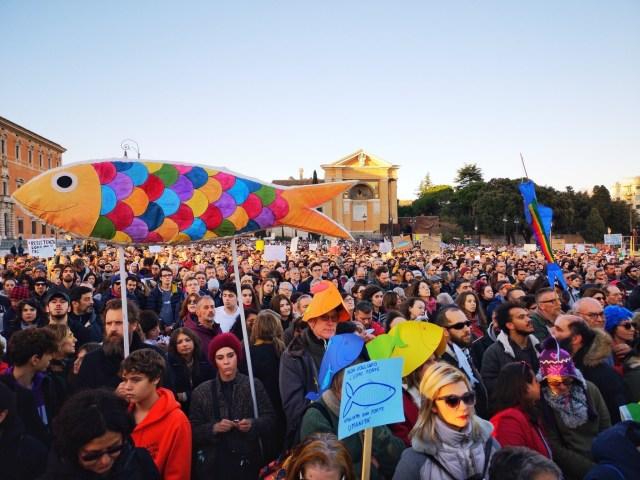 Marcha de las Sardinas.