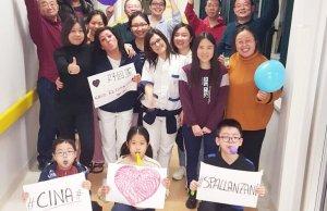 Pacientes chinos en el Spallanzani.