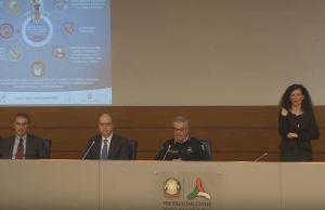 Conferencia de Prensa del 17 de marzo (Foto: Captura Youtube Protezione Civile)