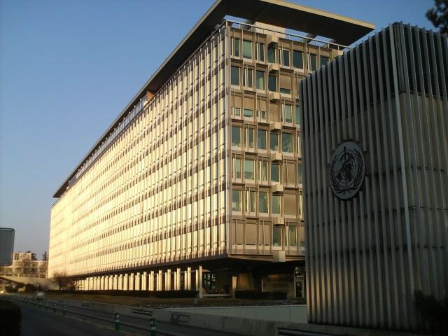 Sede de la Organización Mundial de la Salud, en Ginebra (Foto: Panoramio - Archivo)