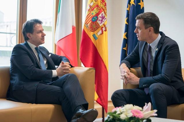 Conte y Sánchez.