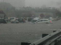 Palermo inundada.