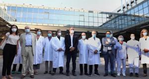Comenzaron las pruebas de la vacuna italiana (Foto: Facebook INMI Spallanzani)