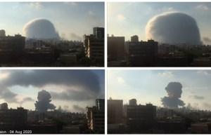 Explosión en Beirut.