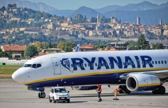 Un avión de Ryanair en el aeropuerto de Bérgamo (Foto: Pixabay - archivo)