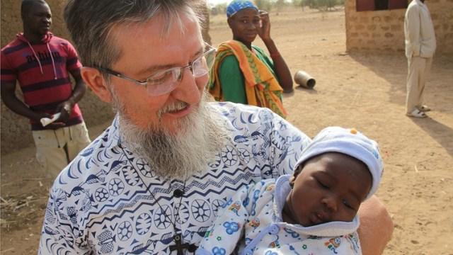 Pier Luigi Maccalli, antes de su secuestro (Foto: Facebook Misiones Africanas)