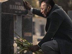 Fotomontaje de Pelé.
