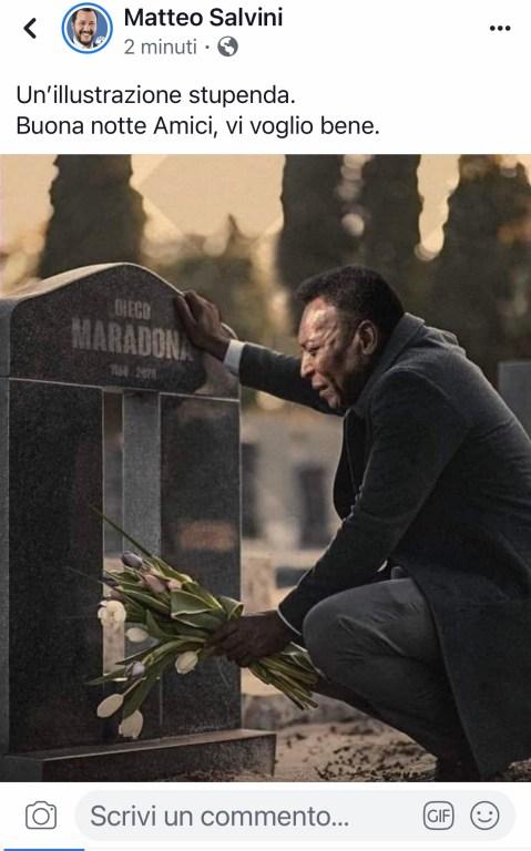 Publicación de Salvini.