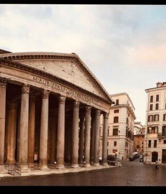 El Panteón de Roma.