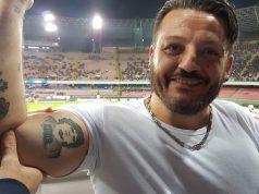 Fanático de Maradona.