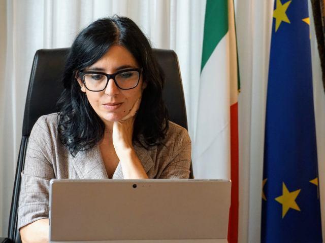 La ministra de Administración Pública, Fabiana Dadone (Foto: Facebook F. Dadone)