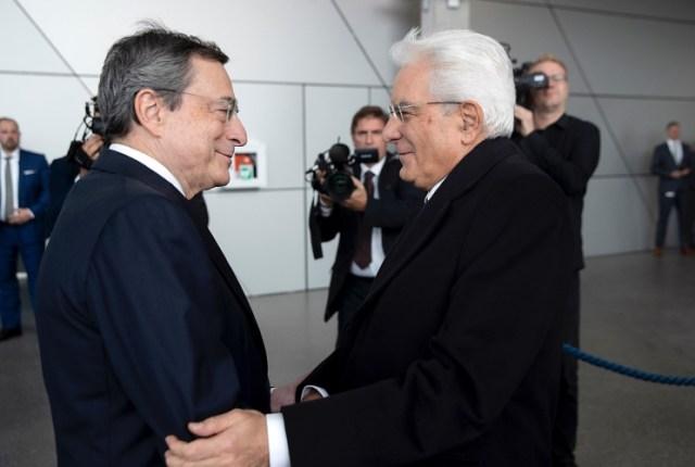 Mario Draghi y Sergio Mattarella, en 2019 (Foto: Quirinale - Archivo)
