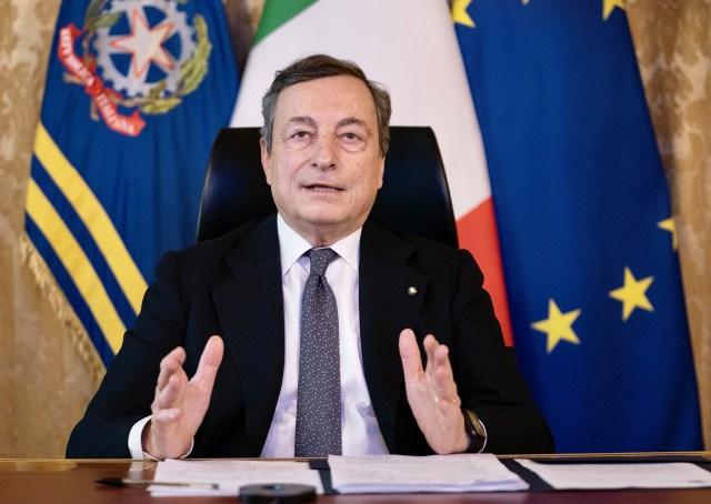 Mario Draghi, en el Consejo Europeo (Foto: Governo)