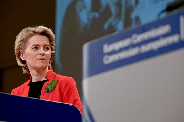 La presidenta de la Comisión Europea, Ursula Von der Leyen (Foto: Twitter CE)