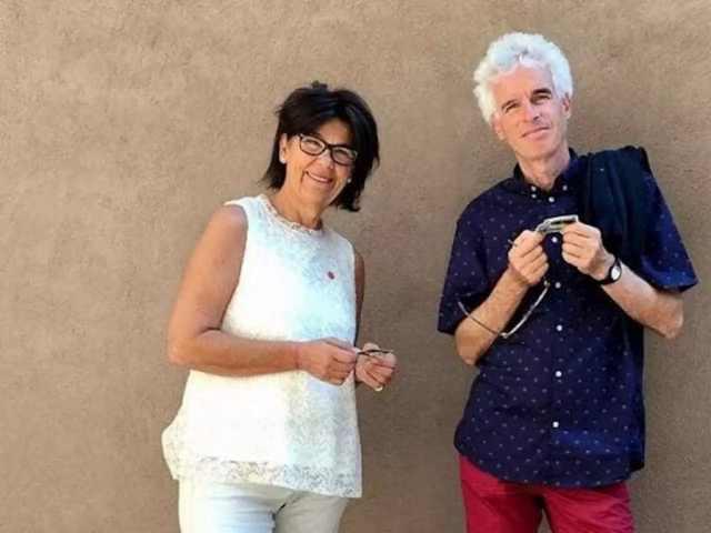Peter y Laura Neumair (Foto: Redes sociales)