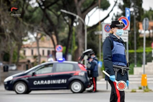 Controles de Carabinieri por el COVID-19 (Foto: Ministero di Defensa - Archivo)
