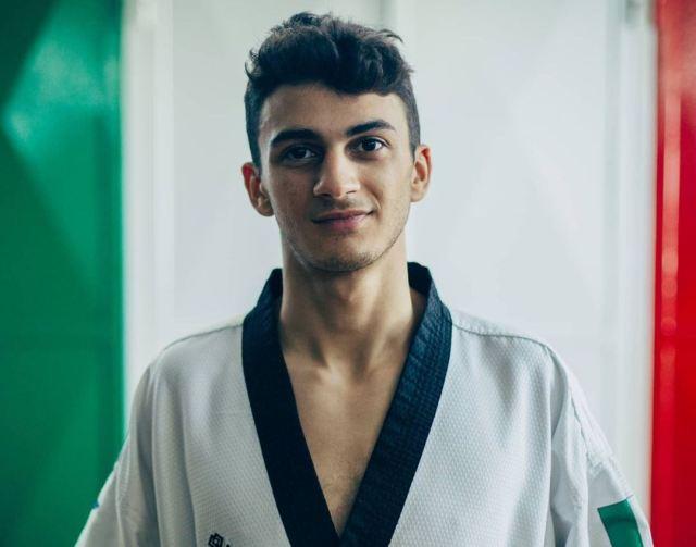 Vito Dell'Aquila, campeón en Tokio 2020 (Foto: Instagram)
