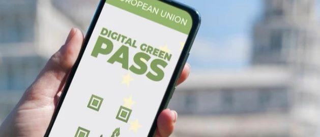 Green pass.