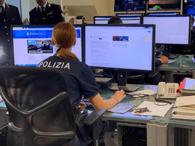 La Polizia di Stato, a cargo de las investigaciones (Foto: Polizia di Stato)