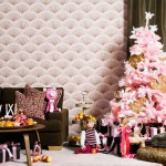 Navidades de color de rosa