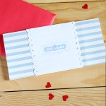 La invitación de boda de Lucas & Blanca