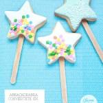 Abracadabra ¡puf! Varitas mágicas de galleta