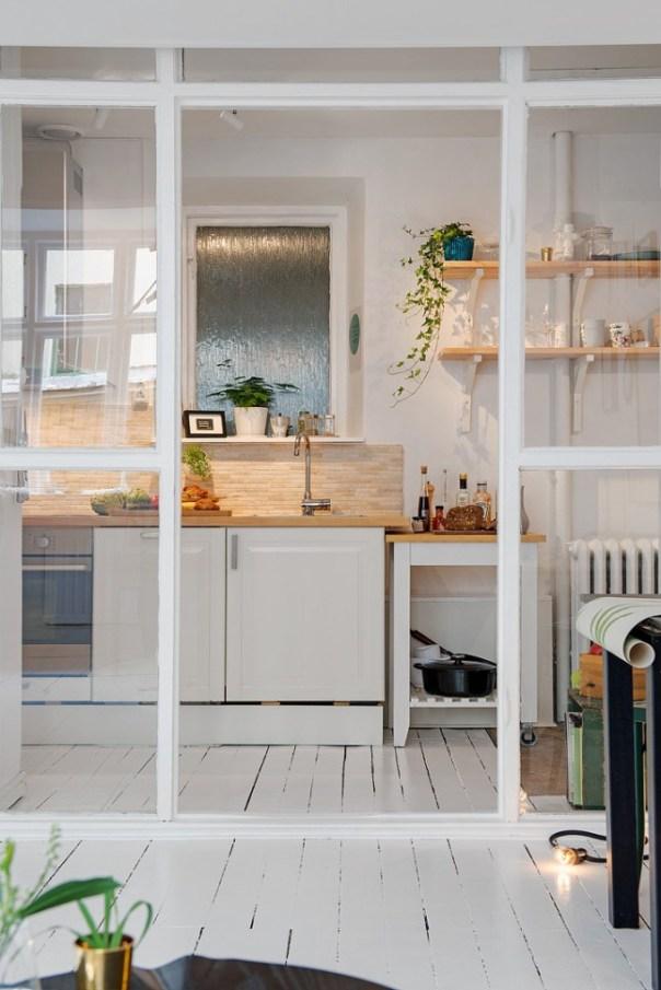 vidriera divisoria cocina