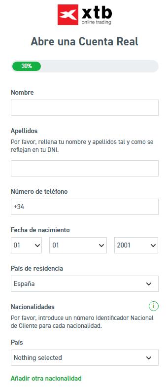 como_abrir_cuenta_xtb_datos_personales
