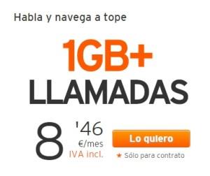 Simyo 1 GB + Llamadas