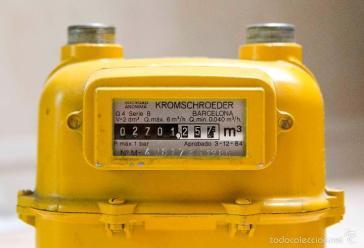 El contador del gas en rebajas: unos 8 euros menos al año
