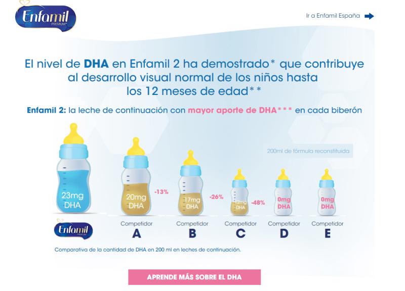 Llevate gratis muestras de leche Enfamil