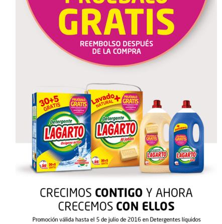 Pruebalo gratis detergente Lagarto