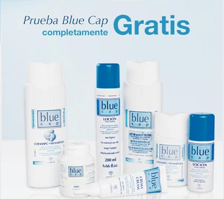 Muestras de crema Blue Cap para pieles sensibles
